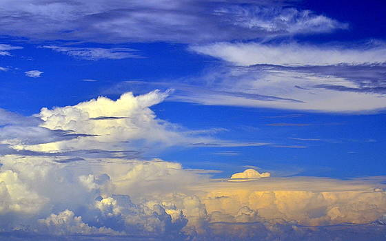Clouds by Kerry Hauser