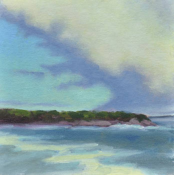 Clouds Over Acadia by Mary Byrom