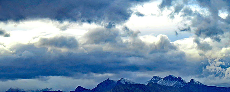 Clouds  Over  The  Spring  Mountains  2016 by Carl Deaville