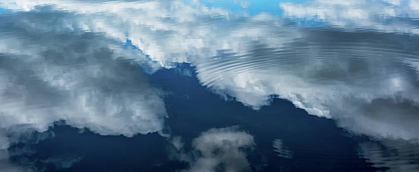 Clouds Reflected by Steve Gadomski
