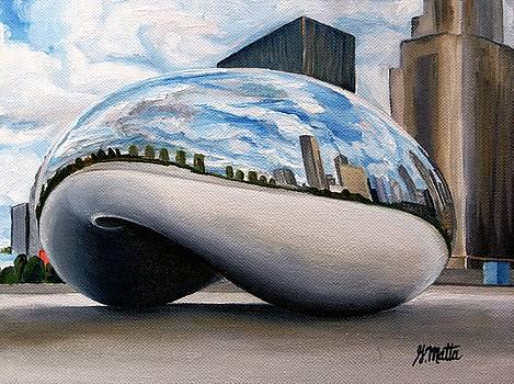 Cloudy Bean by Gretchen Matta