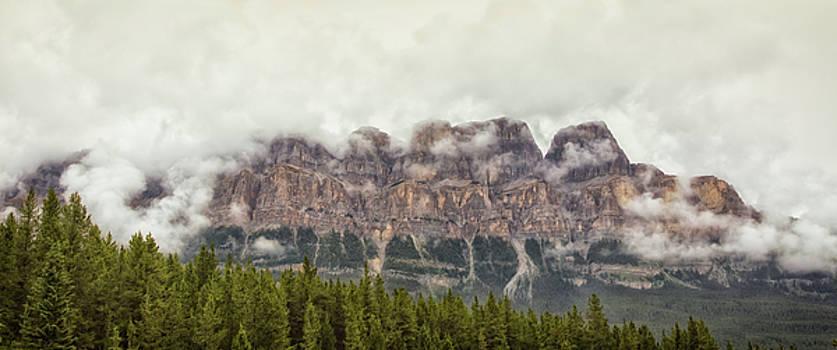 Cloudy Castle Mt by Monte Arnold