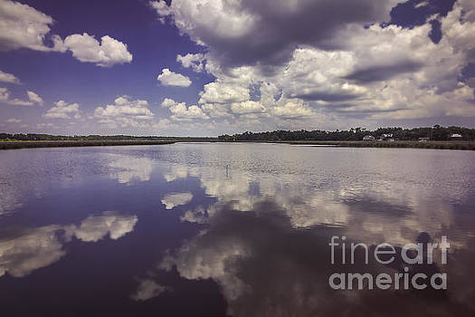 Cloudy Reflections by Joan McCool