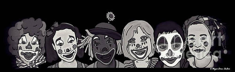 Clown Alley Black Lavender by Megan Dirsa-DuBois