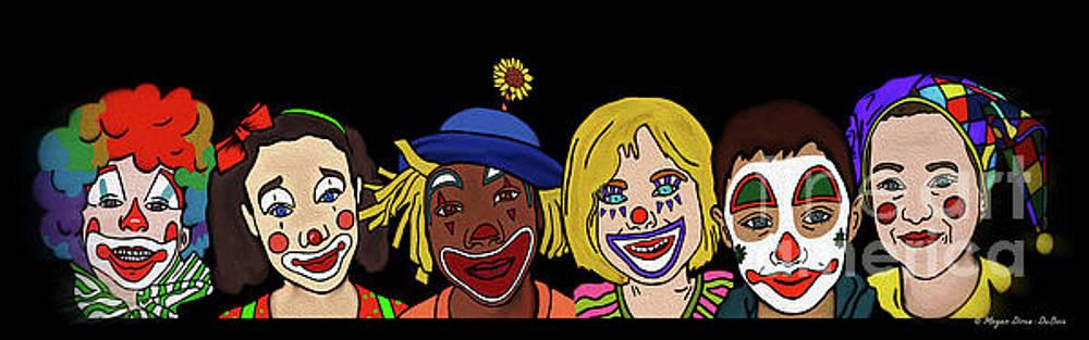 Clown Alley by Megan Dirsa-DuBois by Megan Dirsa-DuBois