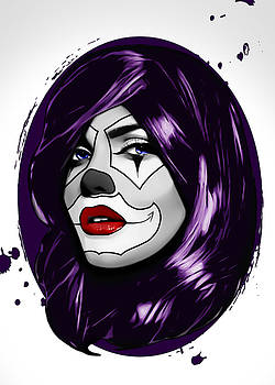 Clown Girl by Nicklas Gustafsson