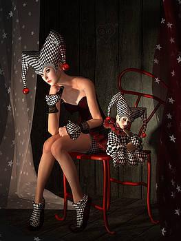 Clowns not Joking by Britta Glodde
