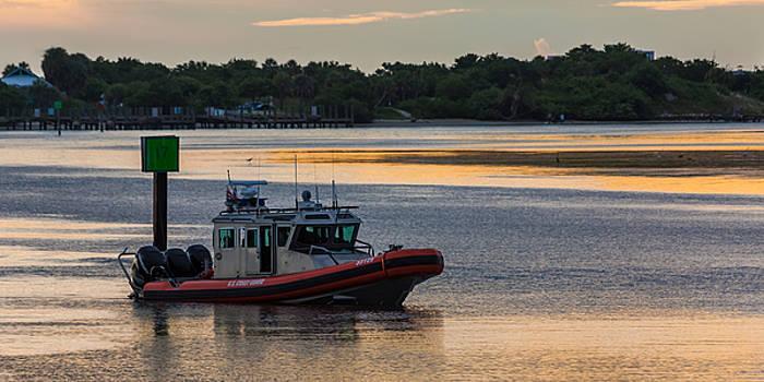 Coast Guard Defender by Ed Gleichman