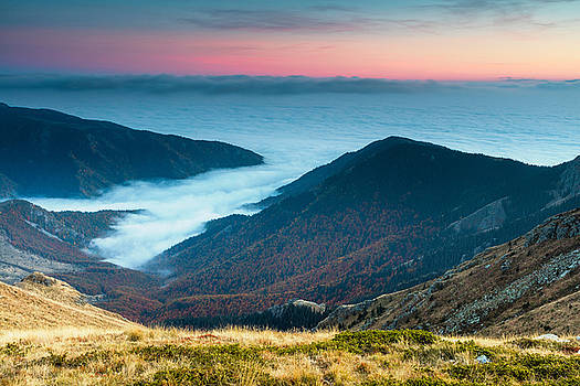Coast In the Clouds by Evgeni Dinev
