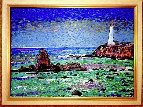 Coastal Beacon by Carl Schumann