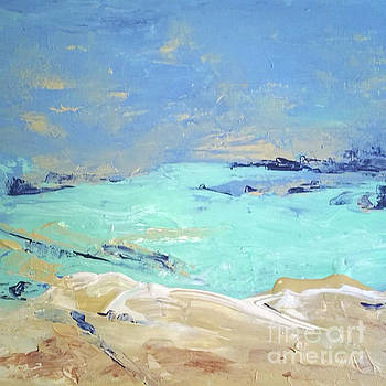 Coastal Landscape by Betty Pinkston