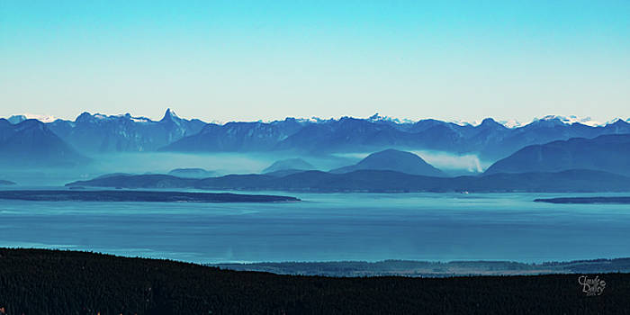 Coastal Mountains by Claude Dalley