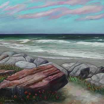 Coastal Quarry by Eve  Wheeler