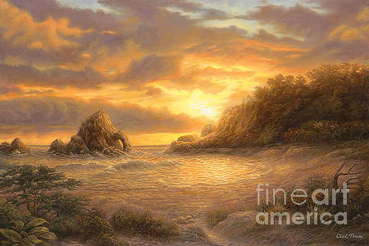 Coastal Sunset by Chuck Pinson