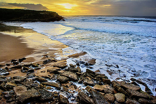 Coastal Sunset by Marion McCristall