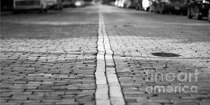 Cobblestone Brick Street by ELITE IMAGE photography By Chad McDermott