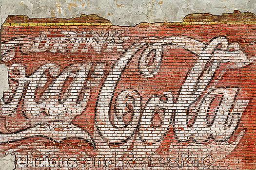 Coca Cola Vintage Mural by Steven Bateson