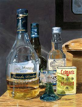 Cocktails and Mustard by Lynne Reichhart