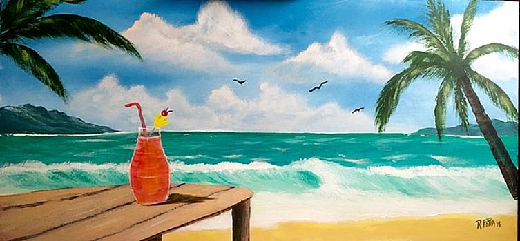 Cocktails on the Beach by Rich Fotia