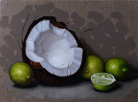 Coconut and Key Limes V by Clinton Hobart