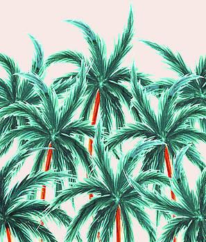 Coconut Trees by Uma Gokhale