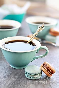Coffee and Macarons by Stephanie Frey
