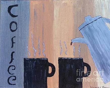 Coffee Art by Nancy Pace