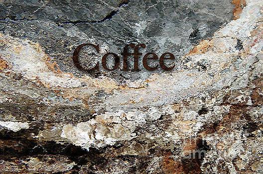Coffee edit 2 Brown Letters by Margie Chapman