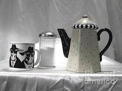 Coffee in Black and White by Donna Dixon