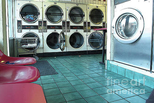 Coin Operated Laundromat by Valerie Morrison