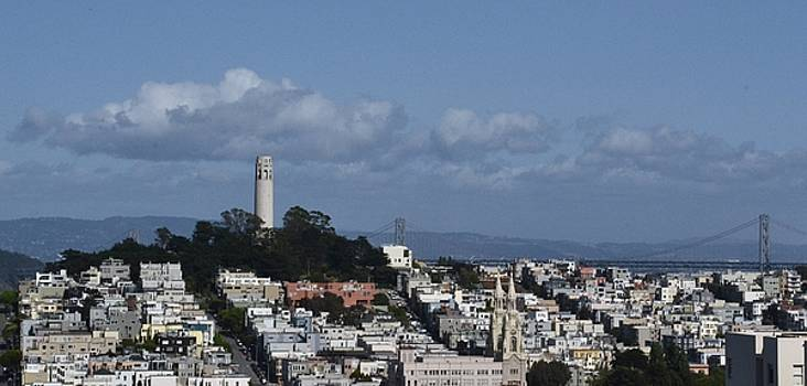Coit Tower by Gus Schoenamsgruber