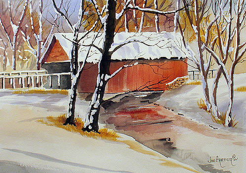 Cold Covered Bridge by Joe Prater