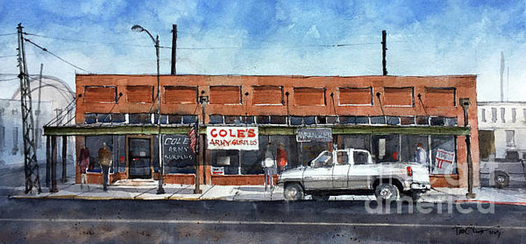 Coles Army Surplus by Tim Oliver