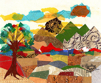 Collage Landscape 3 by Everett Spruill