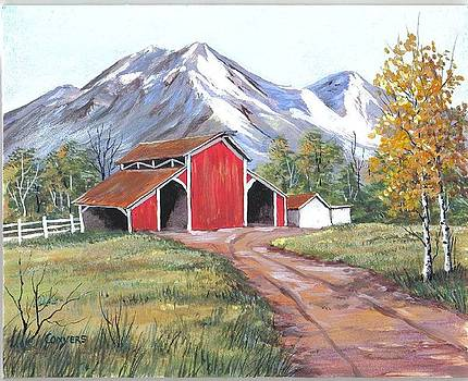 Colo Barns by Peggy Conyers