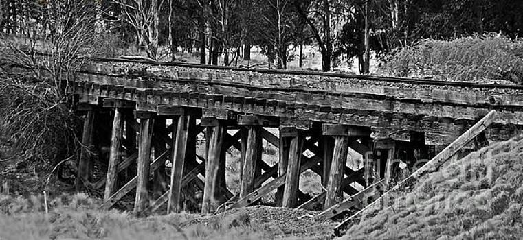 Colonial Era Bridge. by Blair Stuart