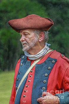 Randy Steele - Colonial Soldier Portrait