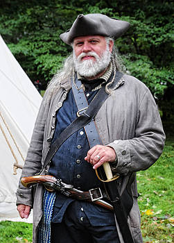 Colonial Sutler During the American Revolution by Dave Mills