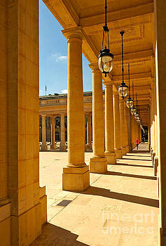 Colonnade at the Palais Royal by Alex Cassels
