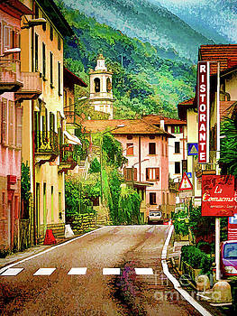 Colonno.Lake Como by Jennie Breeze