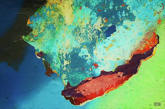 Color Abstraction LXXVI by David Gordon