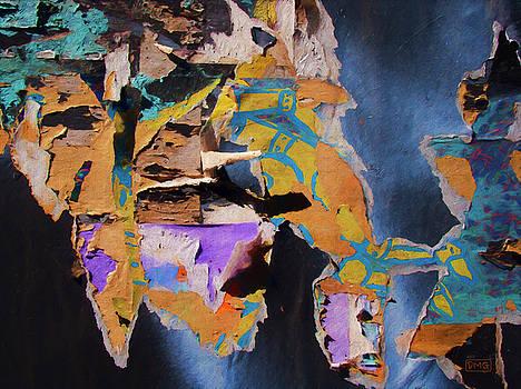 Color Abstraction LXXVII by David Gordon