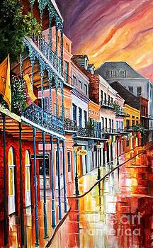 Color in the Quarter by Diane Millsap
