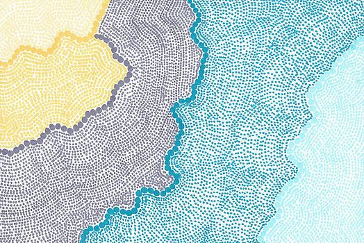 Color Waves by Jill Lenzmeier