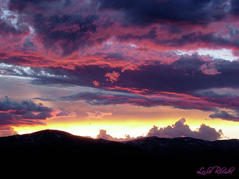 Colorado Bedtime by Leslie Rhoades
