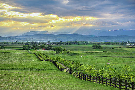 James BO Insogna - Colorado Country Fence to the Rockies