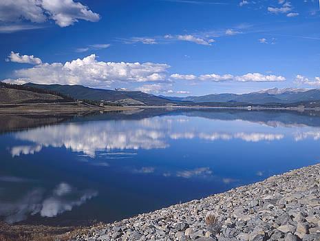 Colorado Lake Reflection by Rex E Ater