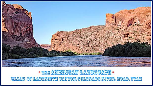 Colorado River, Walls of Labyrinth Canyon, Moab, Utah by A Gurmankin