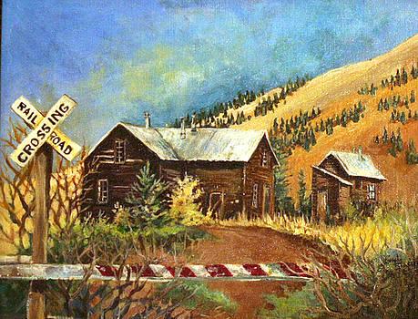 Colorado Shed by Linda Shackelford