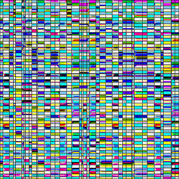 Colorful Blinds by Joy McKenzie